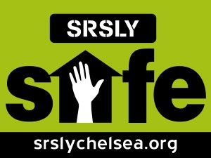 Put Your 'Safe Home' Signs Out! @ Chelsea Community