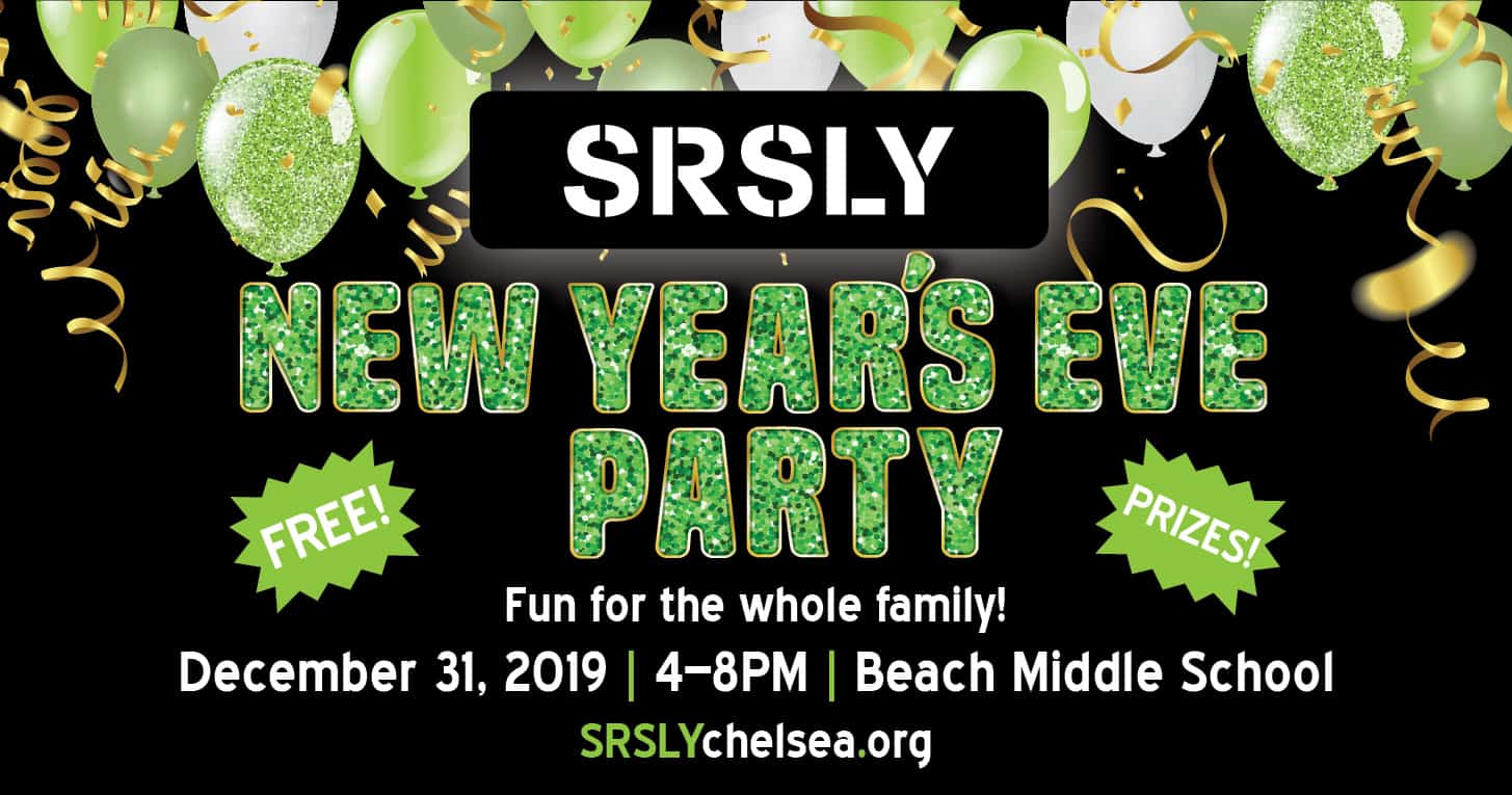 SRSLY New Year's Eve Party! @ Beach Middle School | Chelsea | Michigan | United States