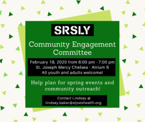 Community Engagement Committee Meeting @ St. Joseph Mercy Chelsea - Atrium B